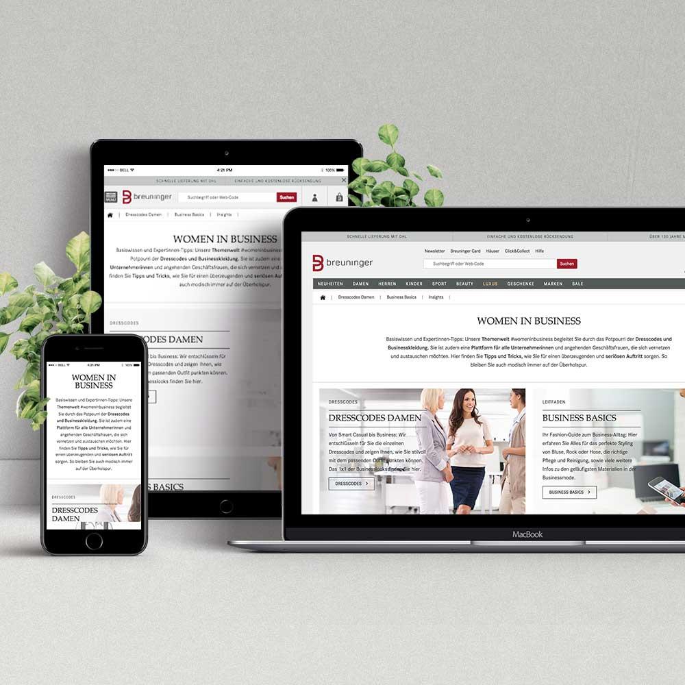 Content Marketing Themenwelt