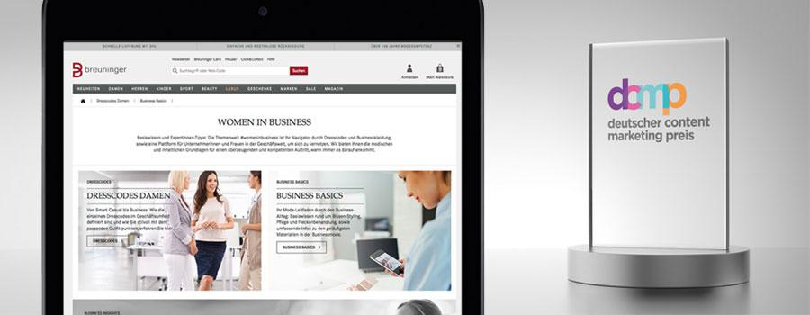 Deutscher Content Marketing Preis