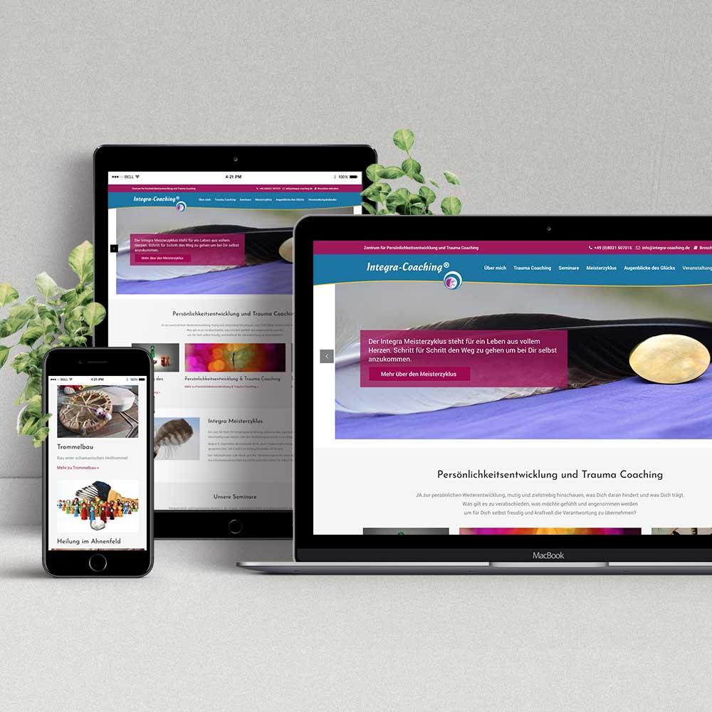 Webdesign & Programmierung Integra-Coaching®