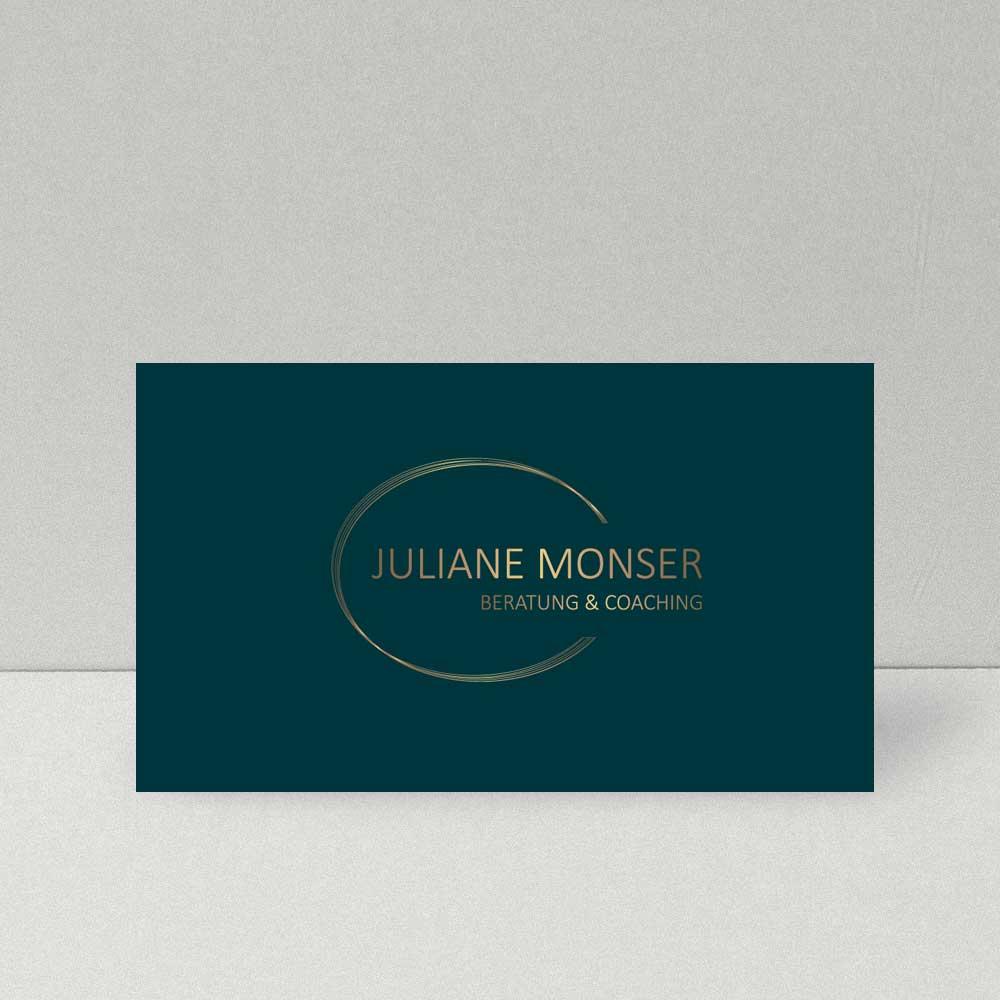Logodesign Juliane Monser