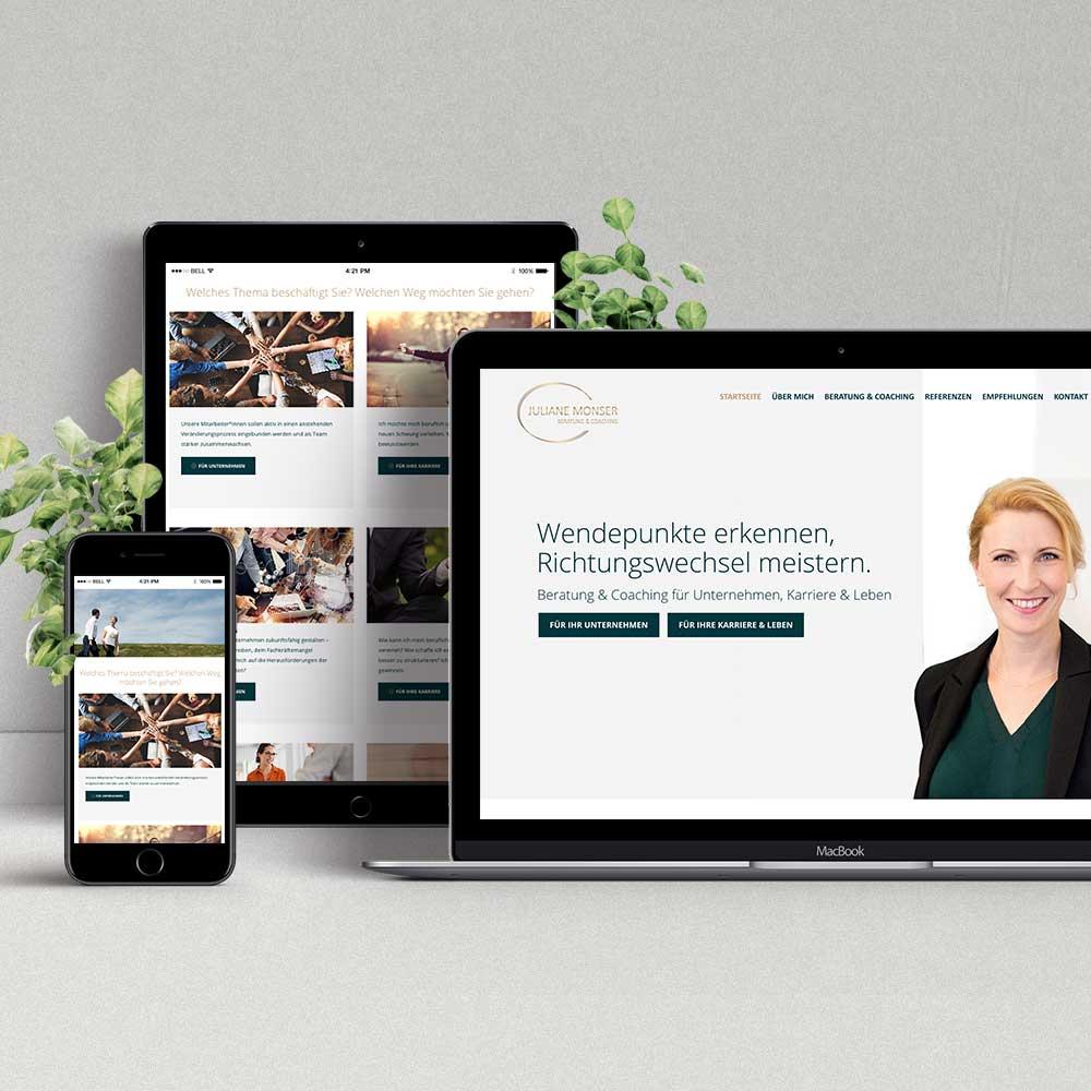Webdesign & Programmierung Juliane Monser