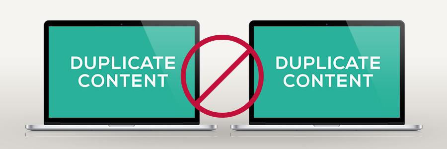 Duplicate Content – SEO