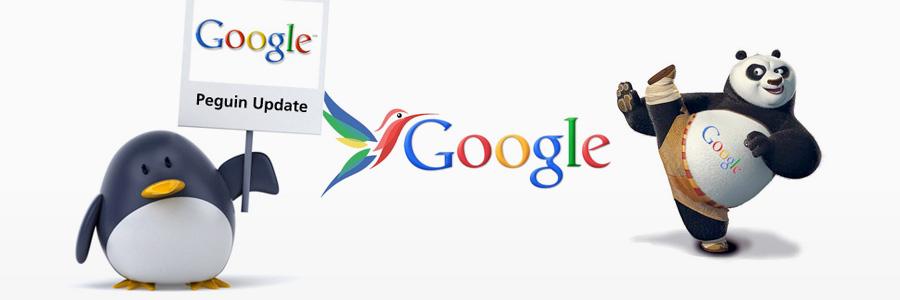 Der Lebenslauf der Algorithmus-Updates von Google