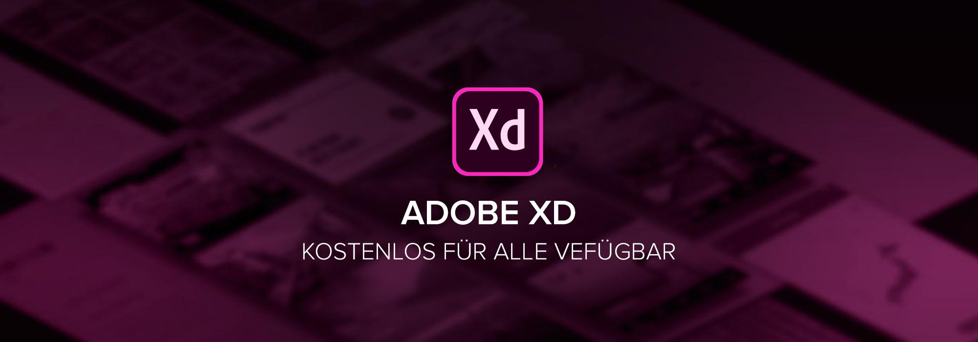Adobe XD ab sofort kostenlos – MADDAZIN