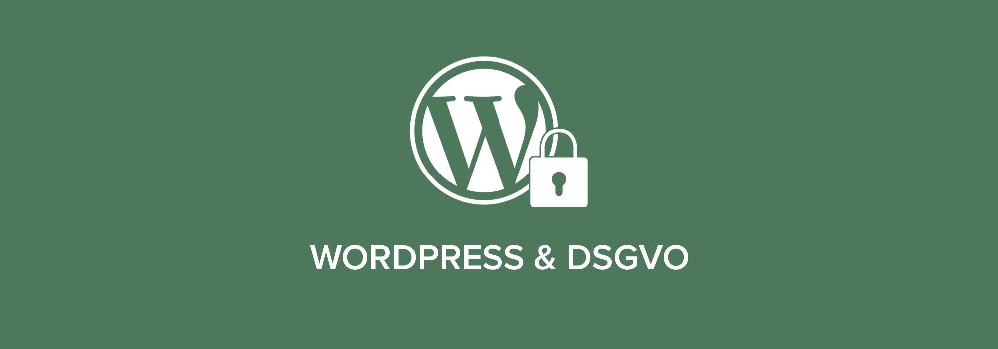 Wordpress & DSGVO
